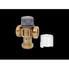 Термостатический смеситель (20-65 °C). Наруж. резьба. Боковой выход ICMA 1