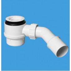 Сифон бутылочный под душевой трап (сливное отверстие 50 мм,высота 85 мм) McAlpine