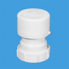 Вентиляционный клапан (аэратор) для канализации с подпружиненной мембраной; выход Ду=50мм