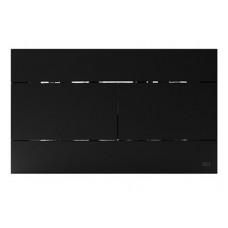 Панель механическая  двойного  слива для инсталляций OLI Soft-touch черный