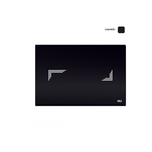 Сенсорная панель OLI стекло TRIBE черная