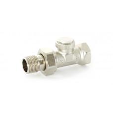 """Uni-Fitt Вентиль обратный никелированный НВ UNI-FITT 3/4"""" с разъемным соединением THERMO"""