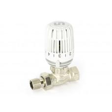 Uni-Fitt Ограничитель температуры обратного потока теплоносителя UNI-FITT никелированный с разъемным соед.